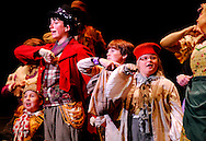 OLIVER! -- A scene from the Variety Children's Theatre production of Oliver! Photo © copyright 2010 Variety, the Children's Charity of St. Louis.
