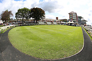 The Parade Ring at York Racecourse prior to racing during the Sky Bet Ebor event at York Racecourse, York, United Kingdom on 25 August 2018. Picture by Mick Atkins.