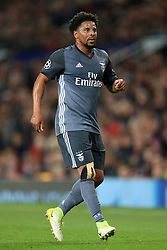 31st October 2017 - UEFA Champions League - Group A - Manchester United v SL Benfica - Eliseu of Benfica - Photo: Simon Stacpoole / Offside.