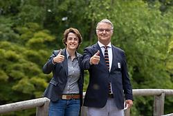 Laeremans Wendy, BEL, Weinberg Peter, GER<br /> BOIC Persconferentie - Japanse Tuinen Hasselt 2021<br /> © Dirk Caremans<br />  24/06/2021