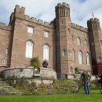 Scone Palace Filming