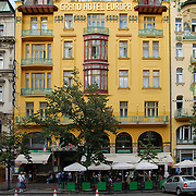 Grand Hotel Europa on Vaclav Square in Prague