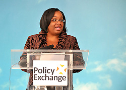 WESTMINSTER LONDON:  DIANE ABBOTT delivers her speech today. Think tank Policy Exchange  hosts a speech, 'The Big Society: A Big Con?' by Diane Abbott, MP and the Labour leadership candidate. She spoke about how Labour should respond to the government's Big Society agenda and  her vision on how civic society can be strengthened on 2nd Sept 2010. STEPHEN SIMPSON..