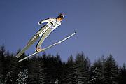 © Filippo Alfero<br /> Pragelato (TO), 12/12/2008<br /> sport , salto con gli sci<br /> Coppa del Mondo di Salto con gli Sci - Pragelato - qualifiche<br /> Nella foto: Matti Hautamaeki - FIN<br /> <br /> © Filippo Alfero<br /> Pragelato, Italy, 12/12/2008<br /> Ski Jumping<br /> FIS World Cup Ski Jumping - Large Hill Individual - 5th competition - qualification<br /> In the photo: Matti Hautamaeki - FIN