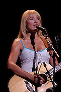 Jewel performs Tuesday night at the Morris performing Arts Center in South Bend. her concert featured acoustic versions of songs from throughout her career, including a yodel at the end.