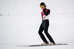 February 17, 2018 - Pyeongchang, SOUTH KOREA - 180217 Daniel Andre Tande of Norway after landing in the men's large hill individual final during day eight of the 2018 Winter Olympics on February 17, 2018 in Pyeongchang..Photo: Carl Sandin / BILDBYRÃ…N / kod CS / 57999_303 (Credit Image: © Carl Sandin/Bildbyran via ZUMA Press)
