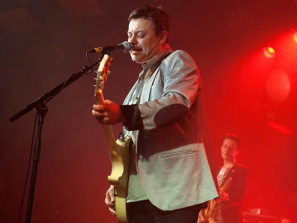 The Manic Street Preachers at The Barrowlands, Glasgow April 2014 (PLEASE DO NOT REMOVE THIS CAPTION)<br /> This image is intended for portfolio use only.. Any commercial or promotional use requires additional clearance. <br /> © Copyright 2014 All rights protected.<br /> first use only<br /> contact details<br /> Stuart Westwood <br /> 07896488673<br /> stuartwestwood44@hotmail.com<br /> no internet usage without prior consent. <br /> Stuart Westwood reserves the right to pursue unauthorised use of this image . If you violate my intellectual property you may be liable for damages, loss of income, and profits you derive from the use of this image.