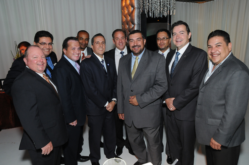 Group O hosts a social event held in conjunction with the United States Hispanic Chamber of Commerce. The Illinois company offers marketing, supply chain, and packaging solutions to Fortune 1,000 companies.