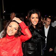 NLD/Amsterdam/20101029 - Openingfeest Match Models, Janice Dickinson en eigenaresse Nathalie Jansen