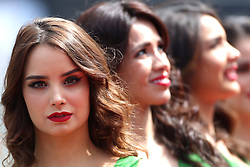 Formel 1: GP von Mexiko 2016 - Rennen in Mexiko-Stadt / 301016<br /> <br /> ***Grid girl<br /> 30.10.2016. Formula 1 World Championship, Rd 19, Mexican Grand Prix, Mexico City, Mexico, Race Day.<br /> Copyright: Charniaux / XPB Images / action press ***