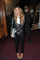 ZARA MARTIN at the opening night of Totem by Cirque du Soleil held at The Royal Albert Hall, London on 5th January 2011.