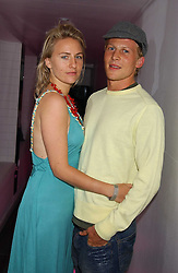 MISS MICKEY SUMNER daughter of singer Sting and MR BEN TOWILL at the launch of Friday Nights at Mamilanji - Chelsea's newest and most exclusive members club, 107 Kings Road, London SW3 hosted by Charlie Gilkes and Duncan Stirling held on 29th July 2005.<br /><br />NON EXCLUSIVE - WORLD RIGHTS