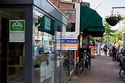 Door crisis of andere omstandigheden leegstand in winkelstraat