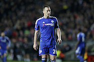 John Terry, the Chelsea captain looks on. The Emirates FA cup, 4th round match, MK Dons v Chelsea at the Stadium MK in Milton Keynes on Sunday 31st January 2016.<br /> pic by John Patrick Fletcher, Andrew Orchard sports photography.