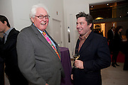 "EDWARD BOOTH-CLIBBORN; JAMES BOOTH-CLIBBORN, Launch party for a very large limited Edition of  ""The History of the Saatchi Gallery ""edited by Booth Clibborn and published by Kraken Opus. Saatchi Gallery,  The Kings Road. London. 26 November 2009"