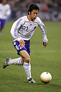 10 February 2006: Japan's Akira Kaji. The United States Men's National Team defeated Japan 3-2 at SBC Park in San Francisco, California in an International Friendly soccer match.
