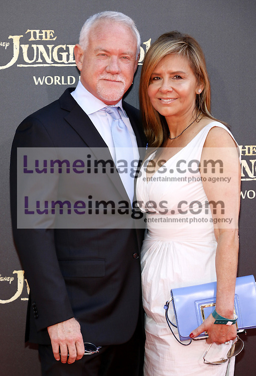John Debney at the World premiere of 'The Jungle Book' held at the El Capitan Theatre in Hollywood, USA on April 4, 2016.