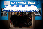 Rabanito Diaz Bike Shop in Puebla