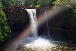Rainbow Falls, Hilo, Big Island, Hawaii