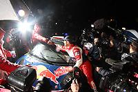 MOTORSPORT - WORLD RALLY CHAMPIONSHIP 2011 - WALES RALLY GB / RALLYE DE GRANDE-BRETAGNE - CARDIFF (GBR) - 10 TO 13/11/2011 - PHOTO : BASTIEN BAUDIN / DPPI - LOEB SEBASTIEN (FRA) - CITROËN DS 3 WRC - CITROËN TOTAL WRT - AMBIANCE PORTRAIT QUESNEL OLIVIER (FRA) - CITROEN WRT - CITROEN RACING DIRECTOR / DIRECTEUR - AMBIANCE PORTRAIT