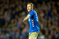 Scott Arfield (#37) of Rangers FC during the Europa League group stage match between Rangers FC and Villareal CF at Ibrox, Glasgow, Scotland on 29 November 2018.