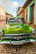 Cuba, Trinidad.vintage car