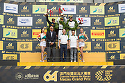 Edoardo MORTARA, Mercedes-AMG Team Driving Academy, Mercedes - AMG GT3, Augusto FARFUS, BMW Team Schnitzer, BMW M6 GT3, Raffaele MARCIELLO, Mercedes-AMG Team GruppeM Racing, Mercedes - AMG GT3<br /> <br /> 64th Macau Grand Prix. 15-19.11.2017.<br /> SJM Macau GT Cup - FIA GT World Cup<br /> Macau Copyright Free Image for editorial use only BMW art car