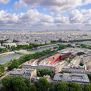 Seine view from height