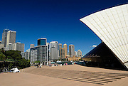 Sydney Opera House and Circular Quay skyline. Sydney, Australia