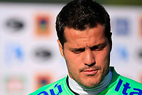 20090604: TERESOPOLIS, BRAZIL - Brazil National Team preparing match against Uruguay. In picture: goalkeeper Julio Cesar. PHOTO: CITYFILES