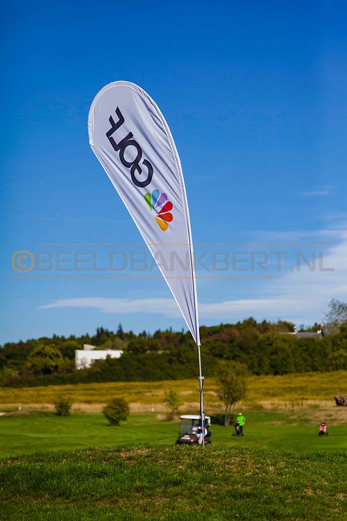 17-09-2015: Beroun Golf Resort in Beroun, Tsjechië.<br /> Foto: Banner golf