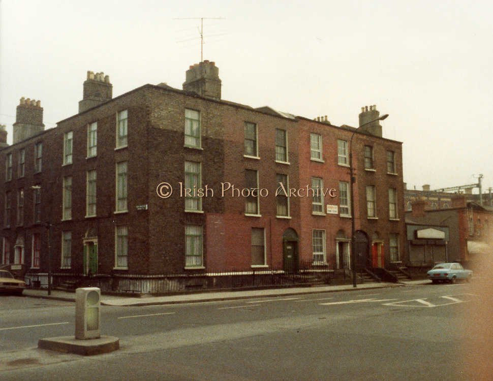 Old Dublin Amature Photos 1980s, Old Dublin Amature Photos March 1984 WITH, Amiens St, P&T Sorting Office, old house, 18 castle, avenue, Clontarf, protestant, church, bottom of Howth, rd, malahide rd, farmhouse, on hill, ford escort, car, Old Dublin Amature Photos January 1983 WITH, <br /> Beggars Bush, Dolphins Barn Skerries, Sussex Rd, Leeson St, Old amateur photos of Dublin streets churches, cars, lanes, roads, shops schools, hospitals