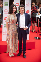 Ronnie Wood and Sally Wood at The Prince's Trust Awards, The London Palladium 11 Mar 2020 Photo by Brian Jordan