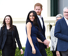 Meghan and Harry in Australia - 25 March 2019