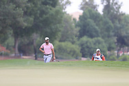 Adrian Otaegui (ESP) on the 15th green during the 3rd round of the DP World Tour Championship, Jumeirah Golf Estates, Dubai, United Arab Emirates. 17/11/2018<br /> Picture: Golffile | Fran Caffrey<br /> <br /> <br /> All photo usage must carry mandatory copyright credit (© Golffile | Fran Caffrey)
