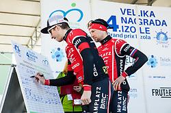 BAJC Andi (SLO) of BMC Amplatz and MUGERLI Matej (SLO) of BMC Amplatz during the UCI Class 1.2 professional race 4th Grand Prix Izola, on February 26, 2017 in Izola / Isola, Slovenia. Photo by Vid Ponikvar / Sportida