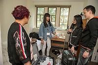 St Paul's School new students moving in day.  ©2017 Karen Bobotas Photographer