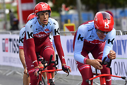 September 22, 2018 - Innsbruck, Autriche - TEAM KATUSHA ALPECIN in action (Credit Image: © Panoramic via ZUMA Press)