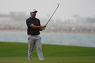 Oliver Farr (WAL) on the 9th during Round 1 of the Oman Open 2020 at the Al Mouj Golf Club, Muscat, Oman . 27/02/2020<br /> Picture: Golffile | Thos Caffrey<br /> <br /> <br /> All photo usage must carry mandatory copyright credit (© Golffile | Thos Caffrey)