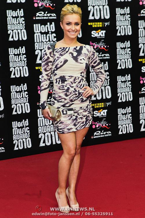 MON/Monte Carlo/20100512 - World Music Awards 2010, Hayden Pannettiere