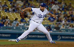 June 21, 2017 - Los Angeles, California, U.S. - Los Angeles Dodgers relief pitcher Luis Avilan during a Major League baseball game against the New York Mets at Dodger Stadium on Wednesday, June 21, 2017 in Los Angeles. Los Angeles. (Photo by Keith Birmingham, Pasadena Star-News/SCNG) (Credit Image: © San Gabriel Valley Tribune via ZUMA Wire)