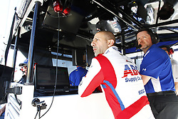 February 9, 2018 - Avondale, Arizona, United States of America - February 09, 2018 - Avondale, Arizona, USA: Tony Kanaan (14) and crew members look on while other teams take to the track for the Prix View at ISM Raceway in Avondale, Arizona. (Credit Image: © Justin R. Noe Asp Inc/ASP via ZUMA Wire)