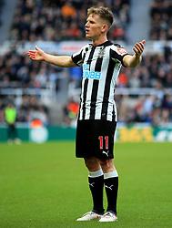 Matt Ritchie of Newcastle United reacts - Mandatory by-line: Matt McNulty/JMP - 11/02/2018 - FOOTBALL - St James Park - Newcastle upon Tyne, England - Newcastle United v Manchester United - Premier League
