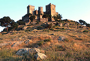 SPAIN, ANDALUSIA Almodovar del Rio, Moorish Castle rebuilt by Pedro I, C1350, west of Cordoba