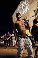 Festival goer at Afropunk in Atlanta, GA.