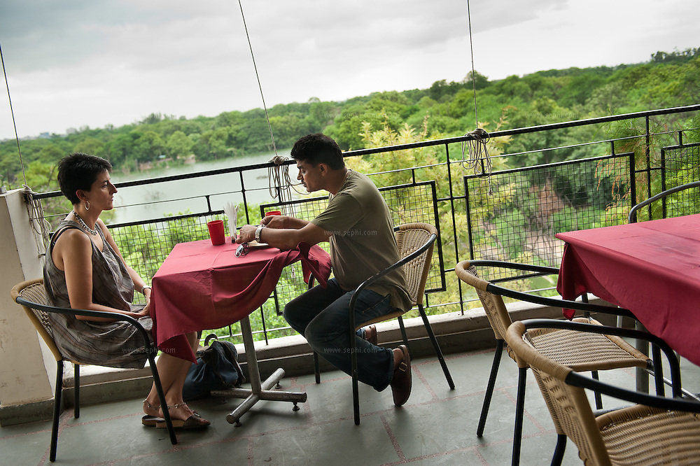 Gunpowder is a restaurant with wonderful views of the lake and some of the best food in the city. Opened in July 2009, it attracts a chic, arty crowd who come for the home-style cooking from India's four southern states. (Gunpowder: The Peninsular Kitchen, Gunpowder.co.in, 22 Hauz Khaz Village, 3rd Floor, Ph: (011) 2653 5700. Closed Mondays. Reservations advised.)