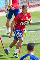 Lucas Vazquez during the training of the spanish national football team in the city of football of Las Rozas in Madrid, Spain. August 28, 2017. (ALTERPHOTOS/Rodrigo Jimenez)