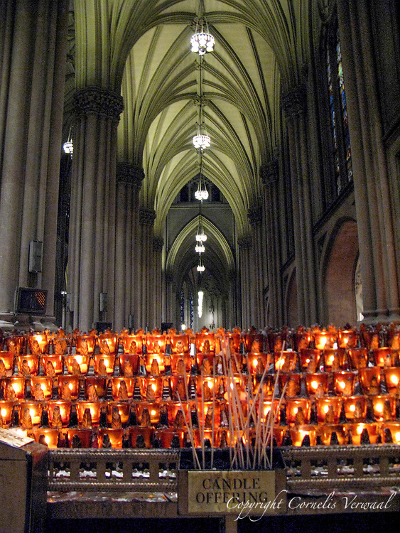 Votive Candles at St. Patrick's Cathedral