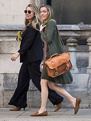 © Licensed to London News Pictures. 22/07/2020. London, UK. WHITNEY HEARD (right) , sister of American actress Amber Heard, arrives at the High Court in London where Johnny Depp is in a legal dispute with UK tabloid newspaper The Sun over allegations he assaulted his former wife, Amber Heard. Photo credit: Ben Cawthra/LNP