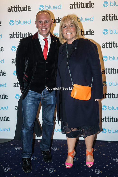 London,England,UK. 27th April 2017. Linda Robson attend the LGBT magazine honours Bachelors of the Year at Café de Paris. by See Li